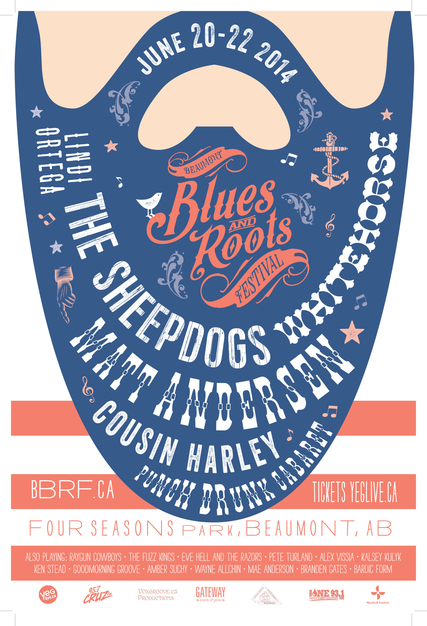 Beaumont Blues & Roots Festival 2014 Beard