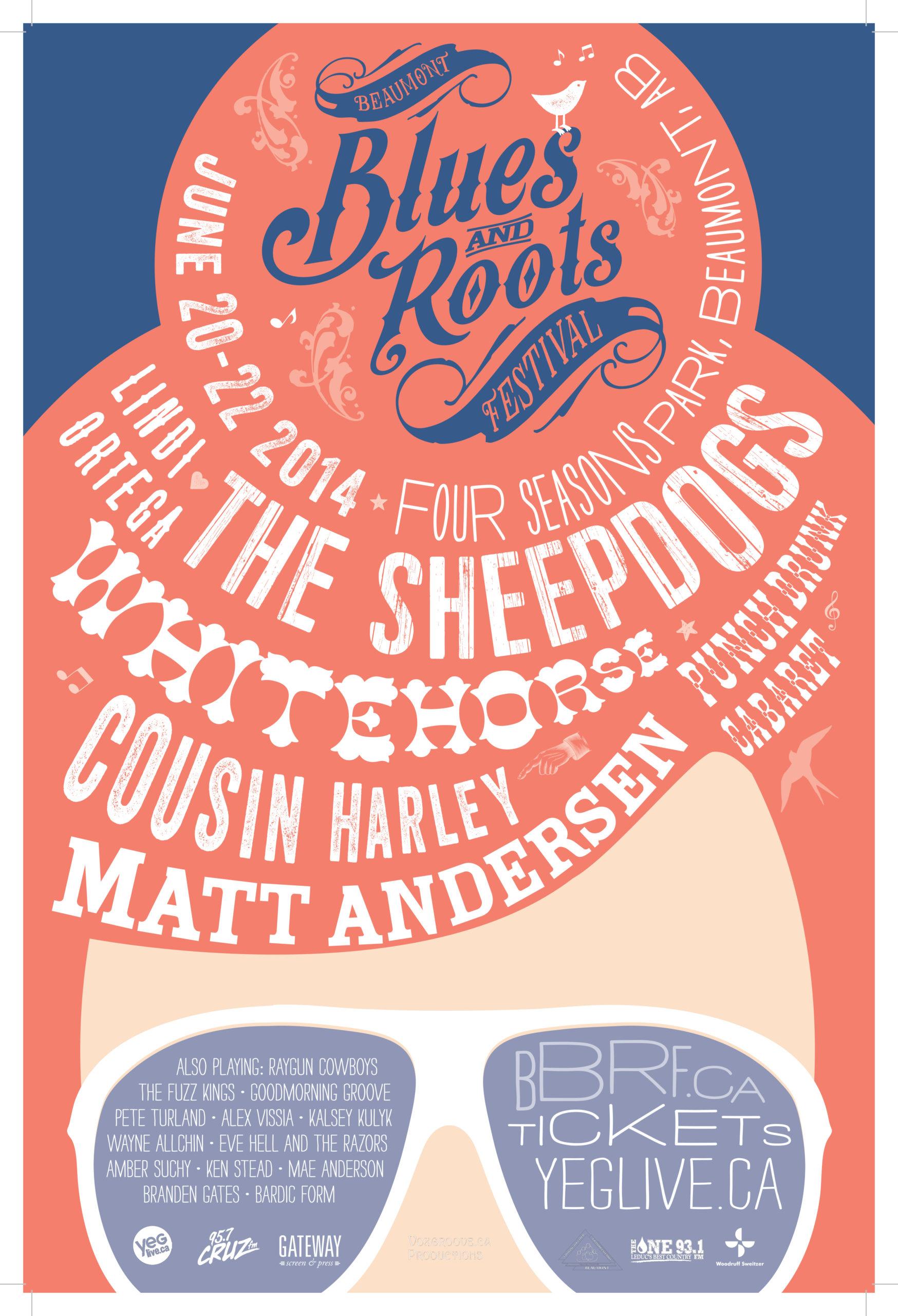 Beaumont Blues & Roots Festival 2014 Sunglasses