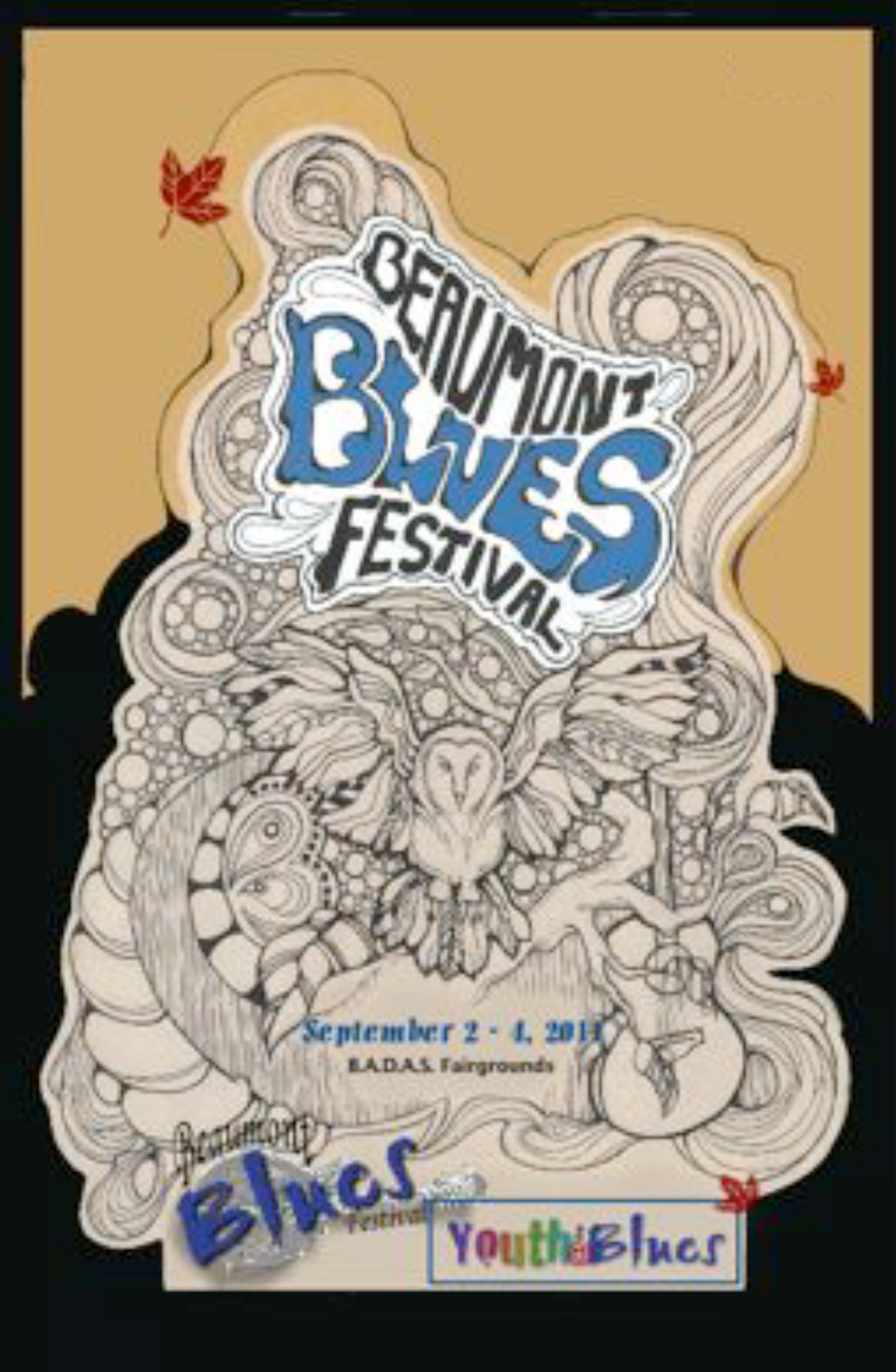 The Beaumont Blues poster 2011
