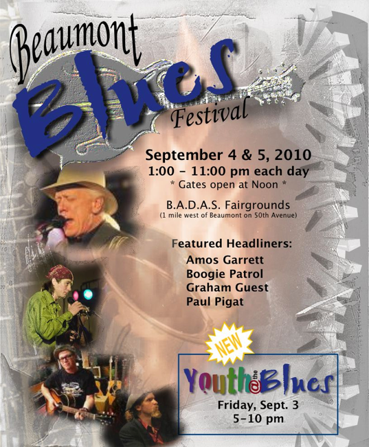 The Beaumont Blues poster 2010