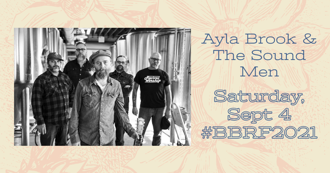 Ayla Brook & The Sound Men at The 2021 Beaumont Blues & Roots Festival