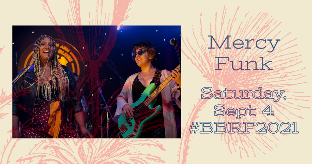 Mercy Funk at The 2021 Beaumont Blues & Roots Festival