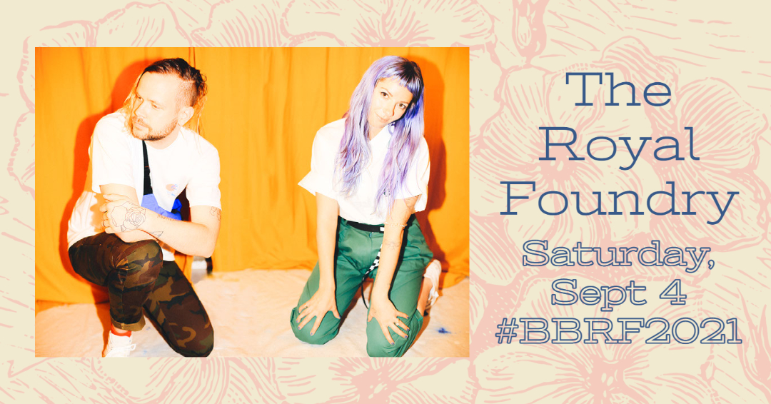 The Royal Foundry at The 2021 Beaumont Blues & Roots Festival