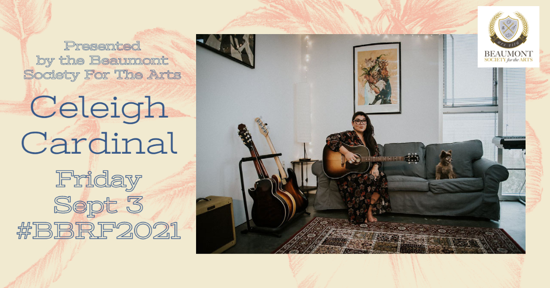Celeigh Cardinal at The 2021 Beaumont Blues & Roots Festival